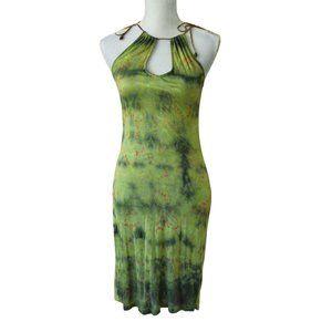 CUSTO BARCELONA Bodycon Halter Dress S/M